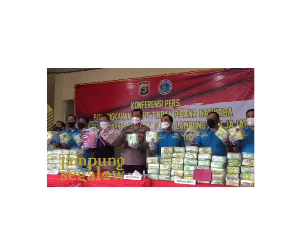 Polda Lampung Ungkap 1414 Kasus