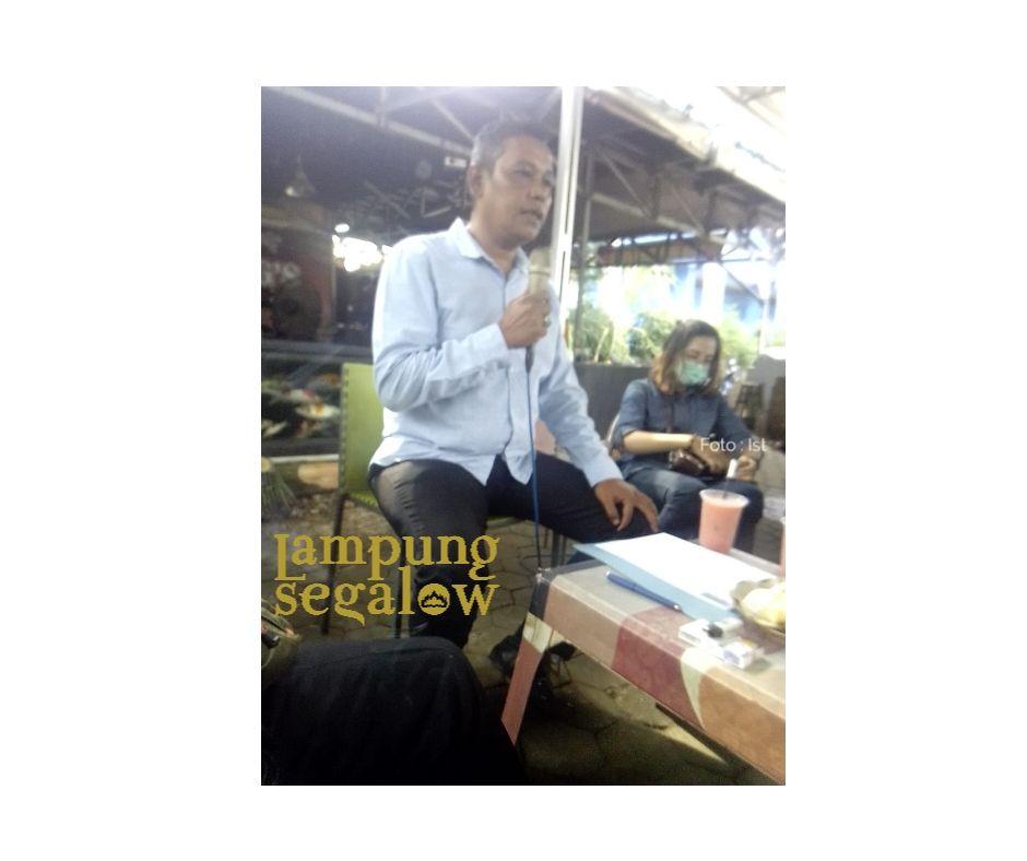 H. Nizwar dan Elkana Rio Calon Ketua dan Sekertaris PWI Lampung