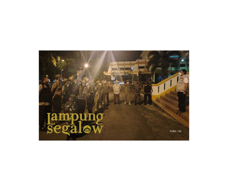 Satgas Covid19 Lampung Gelar Pengawasan Prokes