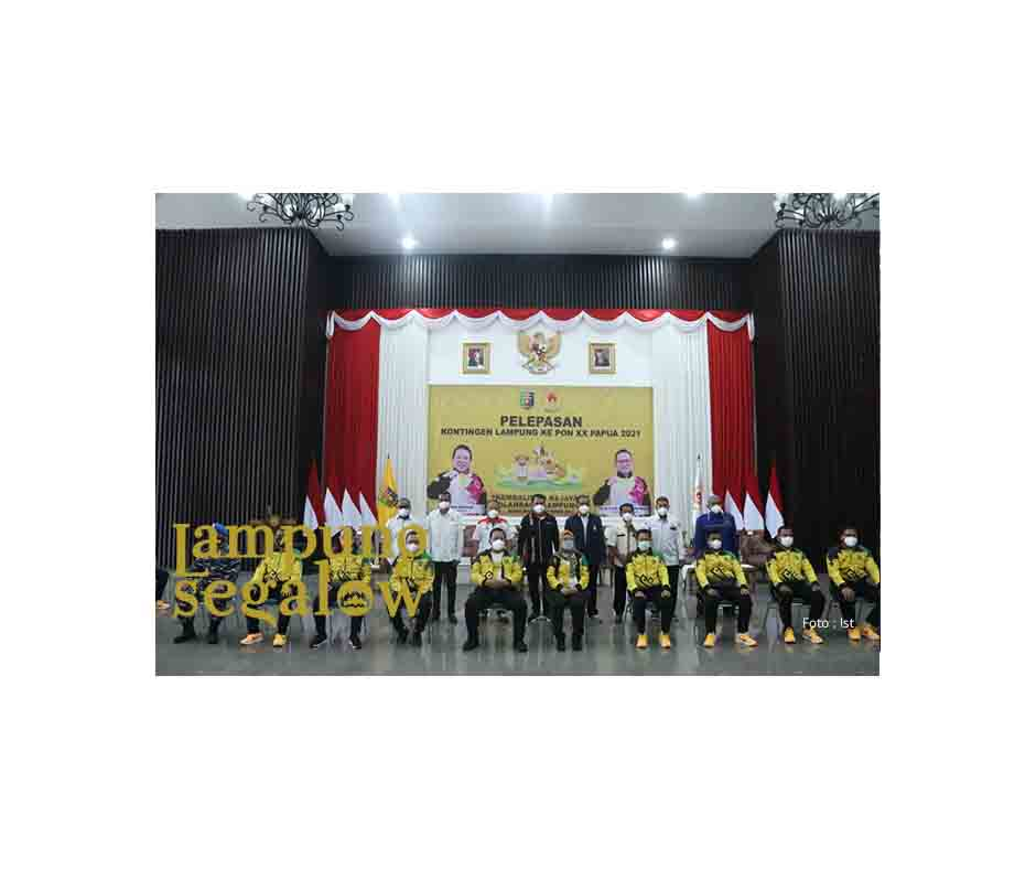 Arinal Lepas Kontingen Lampung