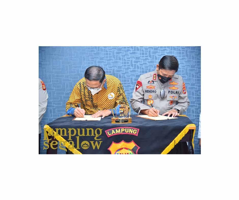 Polda Lampung MoU Dengan ITERA
