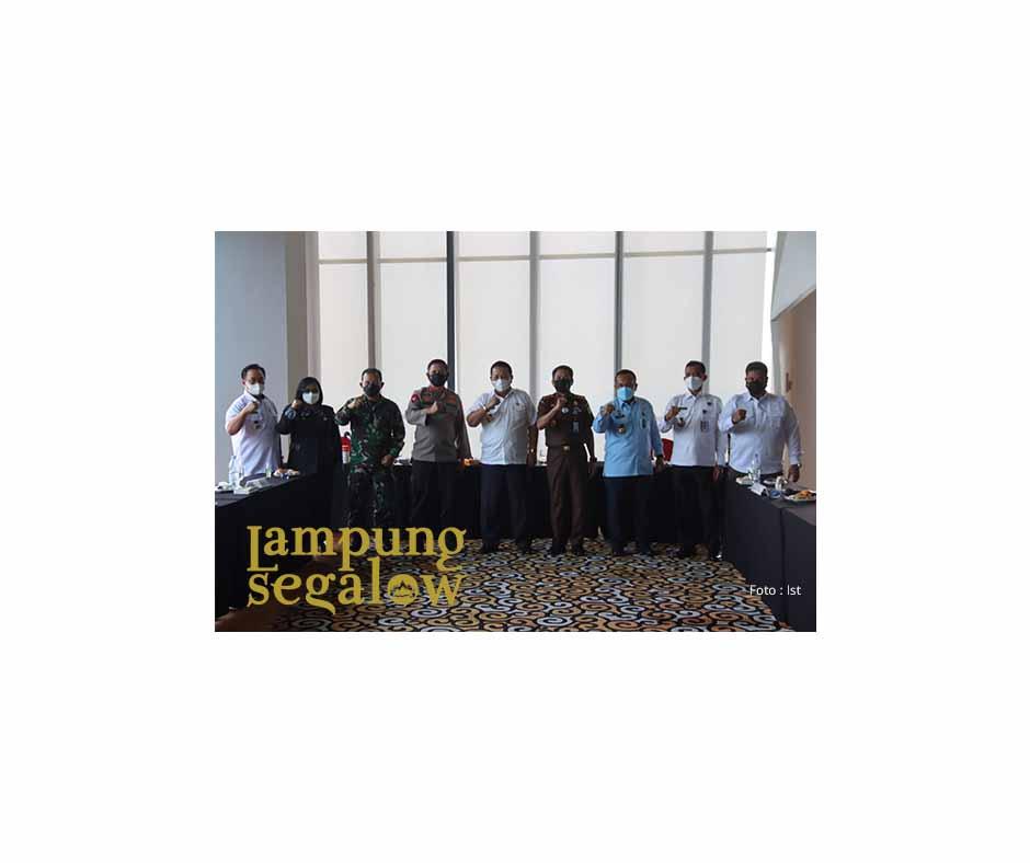Pemprov Lampung Berkomitmen Dalam Pemberantasan Narkoba, dan Penegakan Hukum