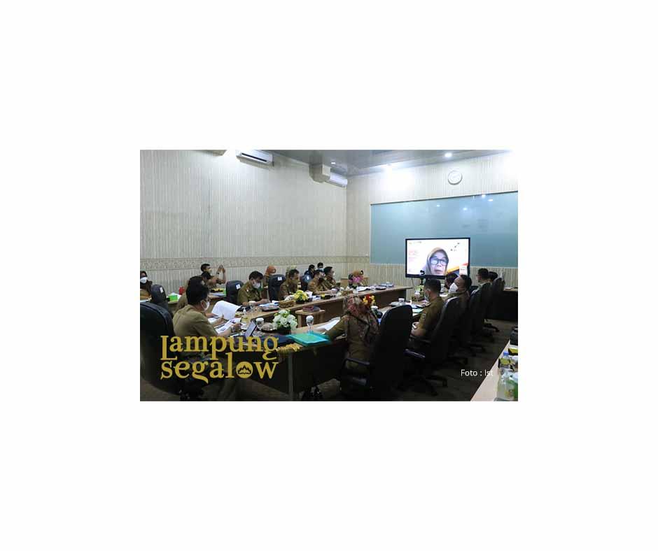 Pemprov Lampung Ikuti Rapat Evaluasi SAKIP RB