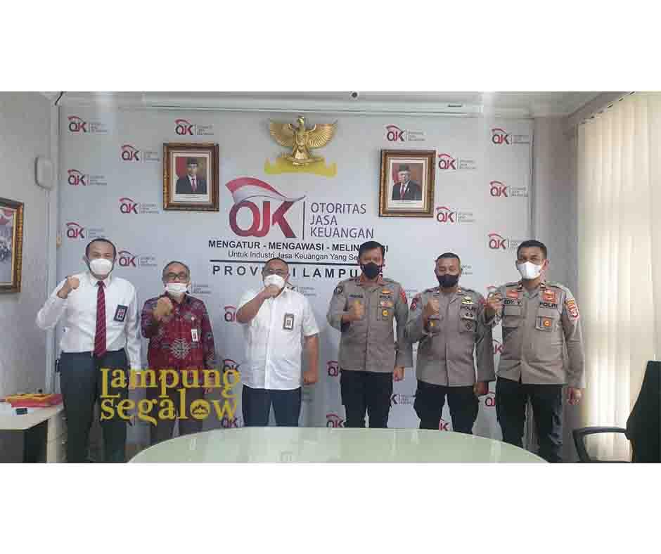 Polda Lampung Kunjungi OJK